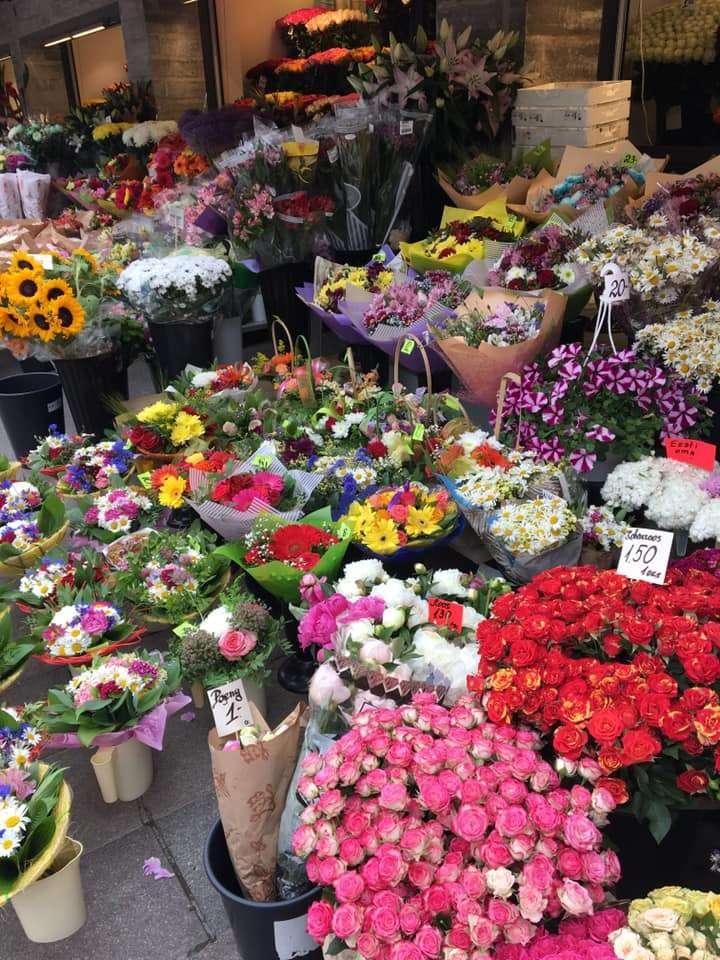 mercato di fiori, Tallin