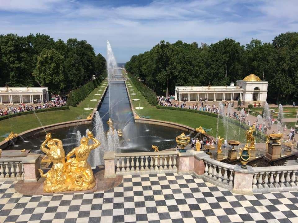 parco Peterhof, San Pietroburgo