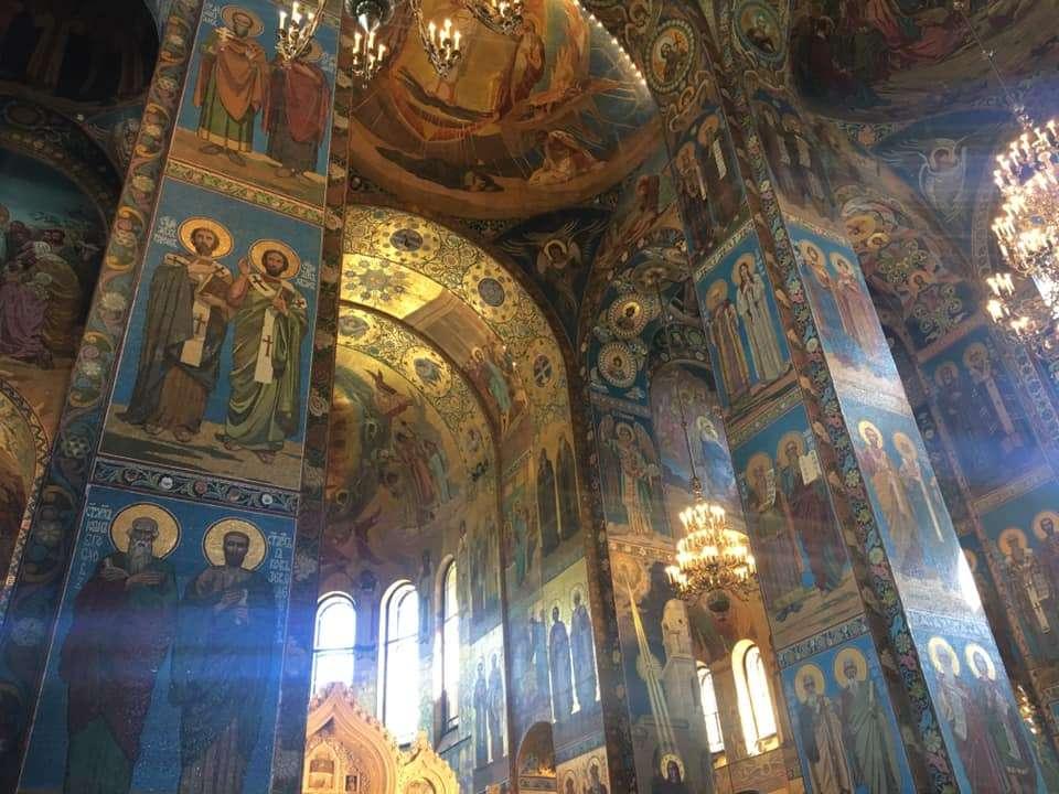 chiesa del salvatore del sangue versato, San Pietroburgo
