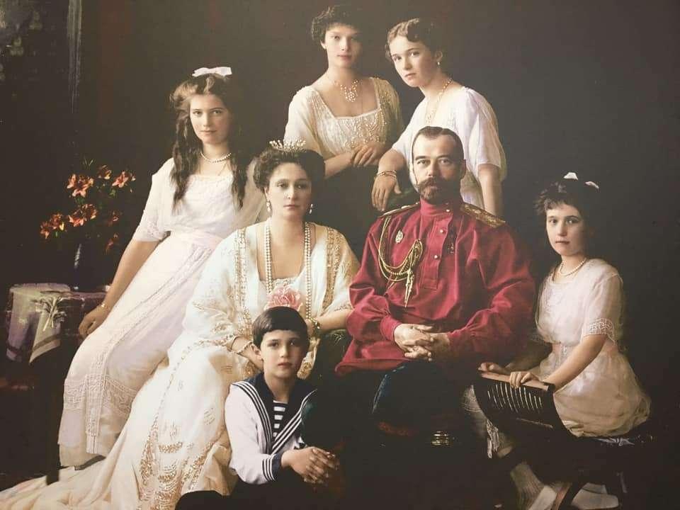 famiglia Romanov