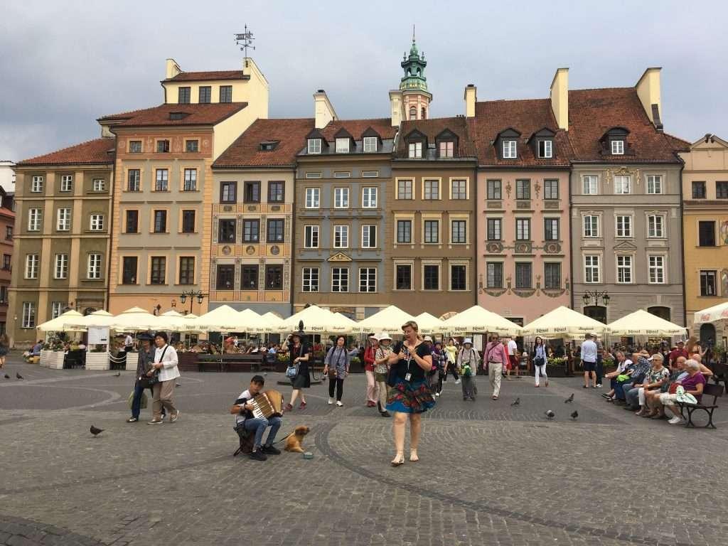 stare miasto, centro storico di varsavia